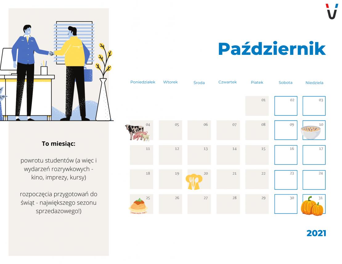 kalendarz marketingowy 2021